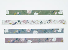 Load image into Gallery viewer, Fall Floral Washi Tapes