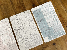 Load image into Gallery viewer, Hobonichi Cousin Weekly Kit: February Chinoiserie Design - B&W