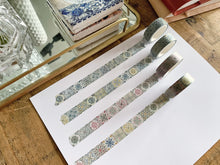 Load image into Gallery viewer, August Vintage Tile Washi Tape - Multicolor
