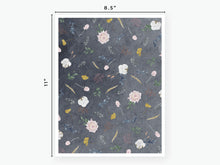 Load image into Gallery viewer, September Fall Florals Vellum 2020 - Navy