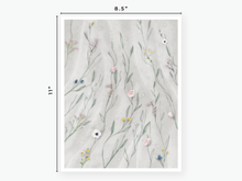 Load image into Gallery viewer, June Floral Vellum 2020 - Light Grey Tulle