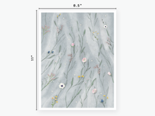 Load image into Gallery viewer, June Floral Vellum 2020 - Blue Tulle