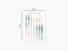 Load image into Gallery viewer, Dots Stickers - Gradient