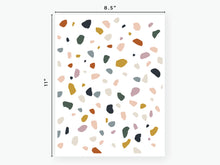 Load image into Gallery viewer, Terrazzo Vellum - White