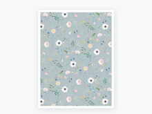 Load image into Gallery viewer, June Floral Vellum 2020 - Blue