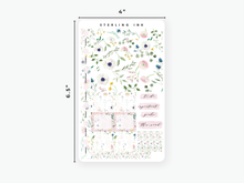 Load image into Gallery viewer, Hobonichi Weeks Weekly Kit: June Florals 2020-White