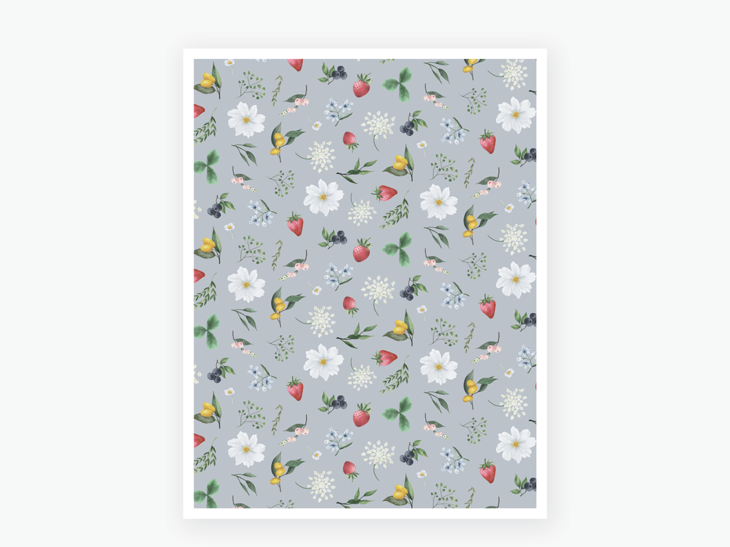 July Berry Vellum 2020 - Blue
