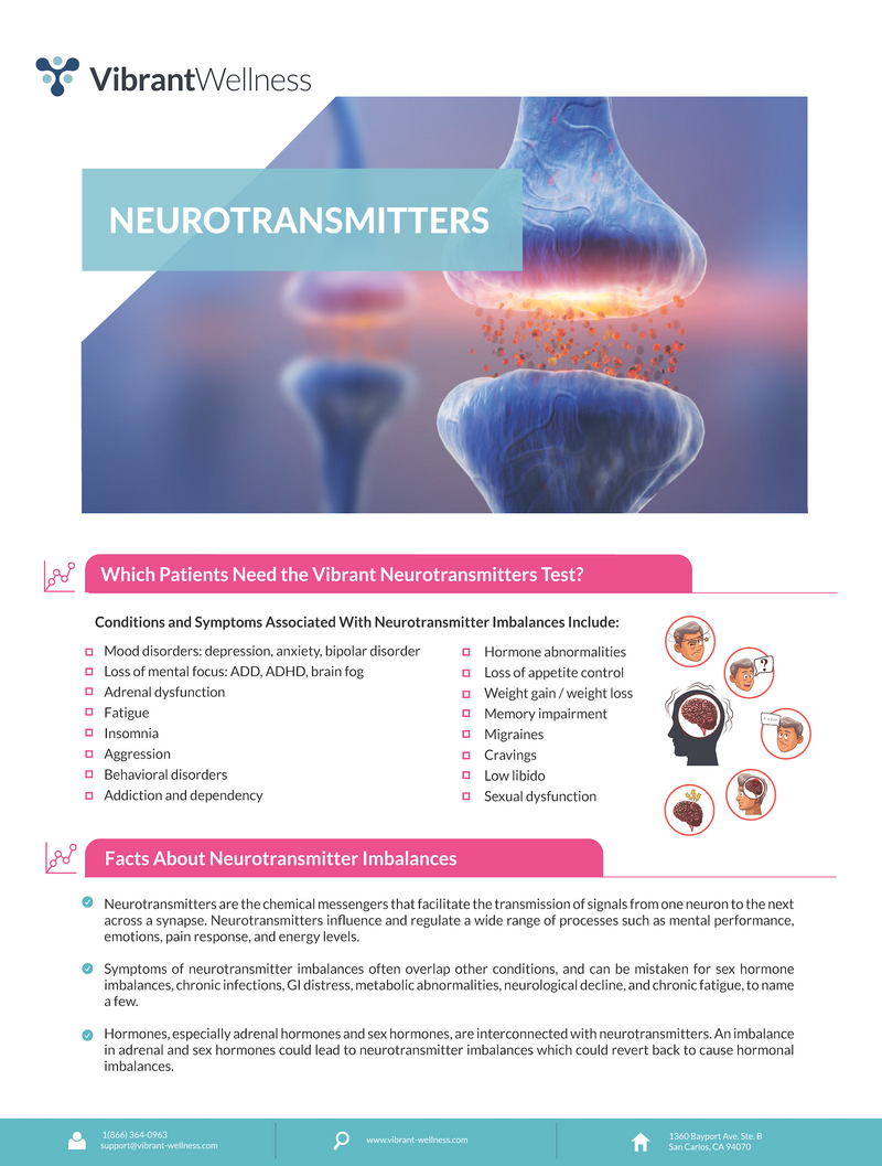 Neurotransmitters Testing