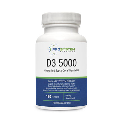 D3 5000 (180 softgels)