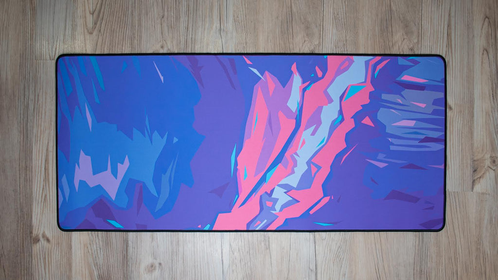 Purple Storm Desk Pad