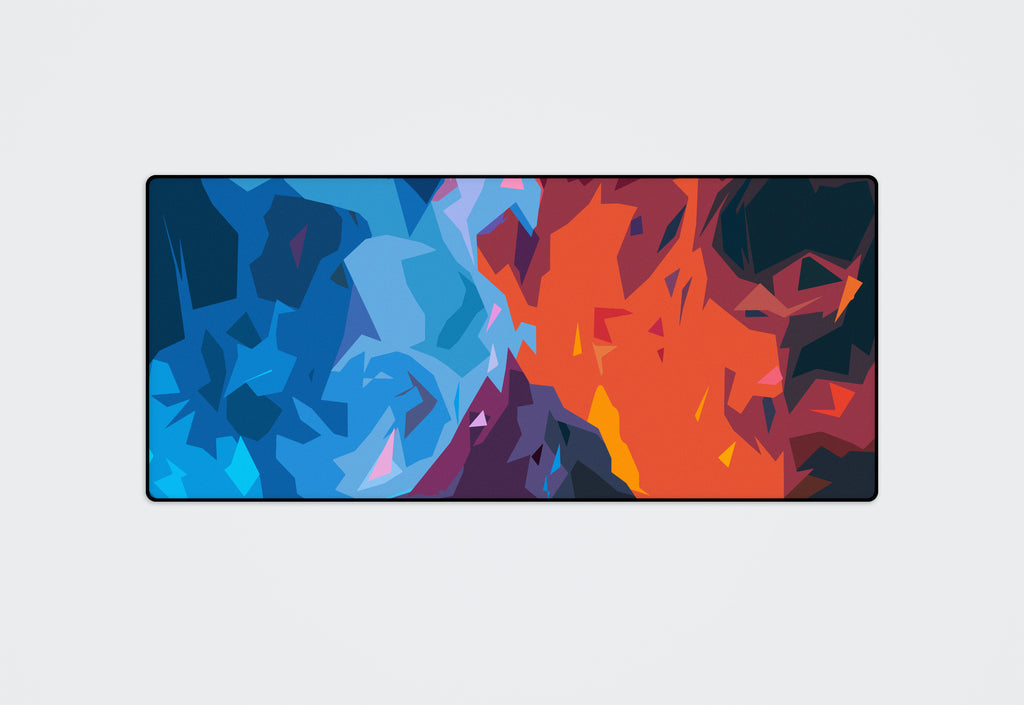 Fire & Ice Desk Pad
