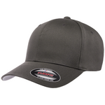 Flexfit Curved Peak Cap - Dark Grey