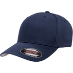 Flexfit Curved Peak Cap - Navy