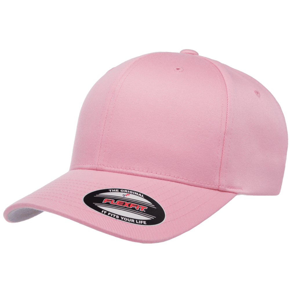 Flexfit Curved Peak Cap - Pink