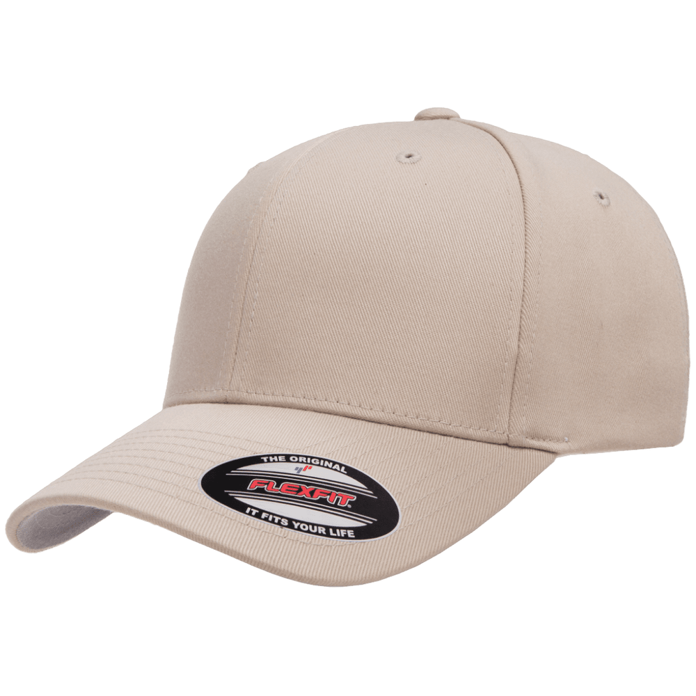 Flexfit Curved Peak Cap - Stone