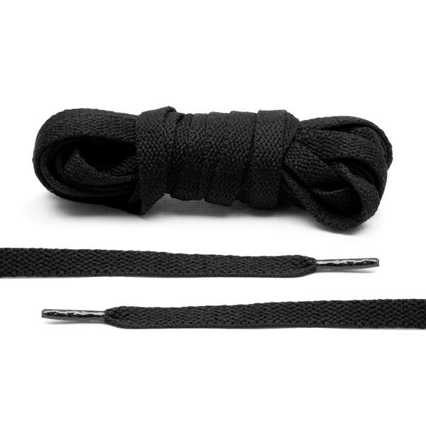 Lace Lab Jordan 1 Replacement Shoe Laces - (Black)