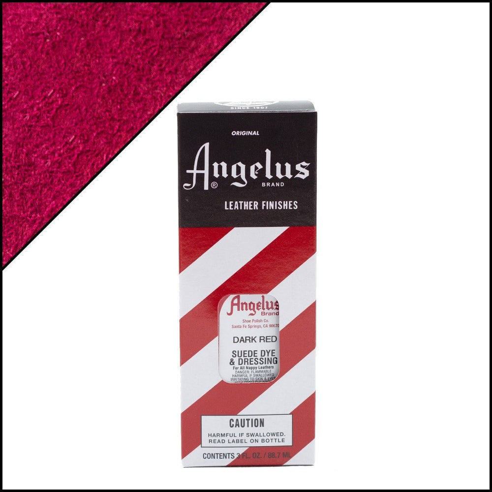 Angelus Suede Dye - Dark Red