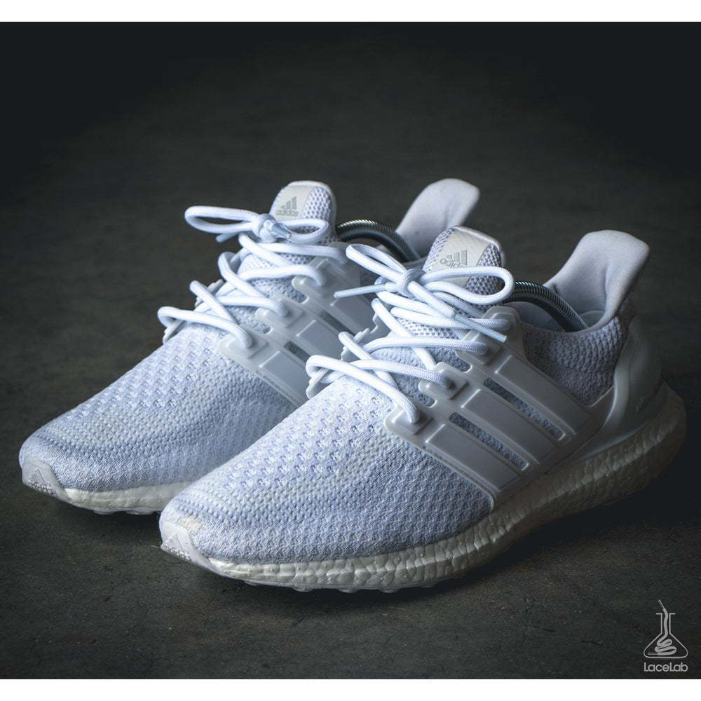 Lace Lab Rope Laces - Ultra Boost (White)