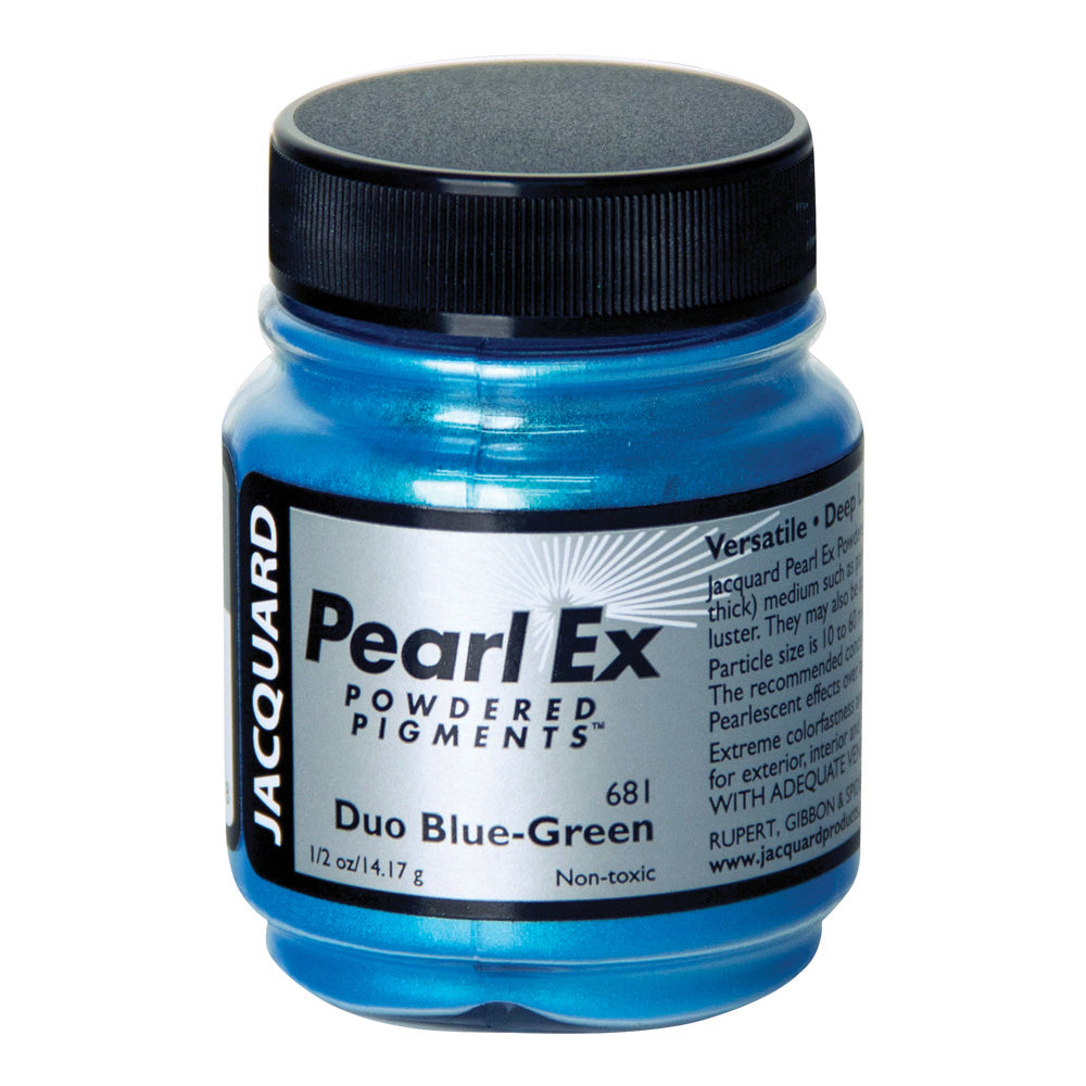 Jacquard Pearl Ex Pigments - Duo Blue-Green