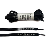"SneakerScience ""SHOELACES"" Reflective Laces - (Black)"