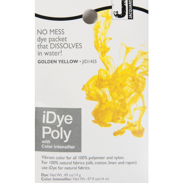 Jacquard iDye Poly - Golden Yellow