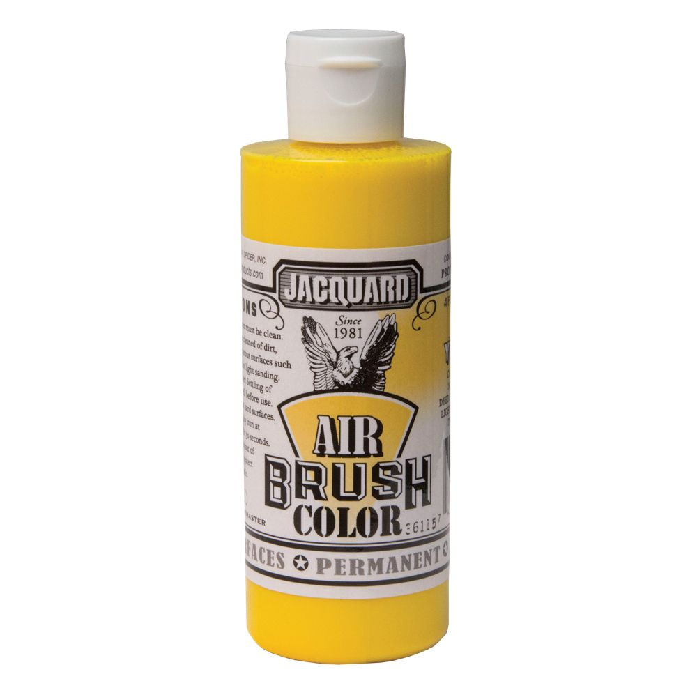 Jacquard Airbrush Colors - Bright Yellow