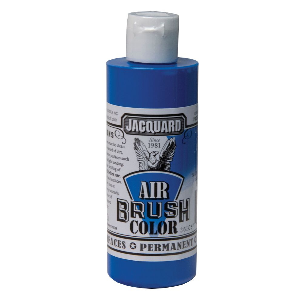 Jacquard Airbrush Colors - Fluorescent Blue