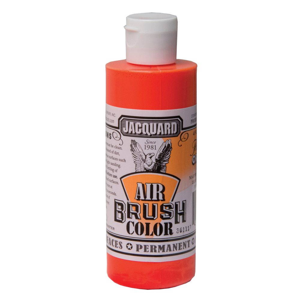 Jacquard Airbrush Colors - Fluorescent Orange