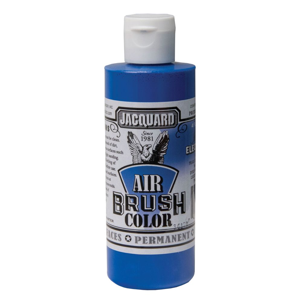 Jacquard Airbrush Colors - Iridescent Electric Blue
