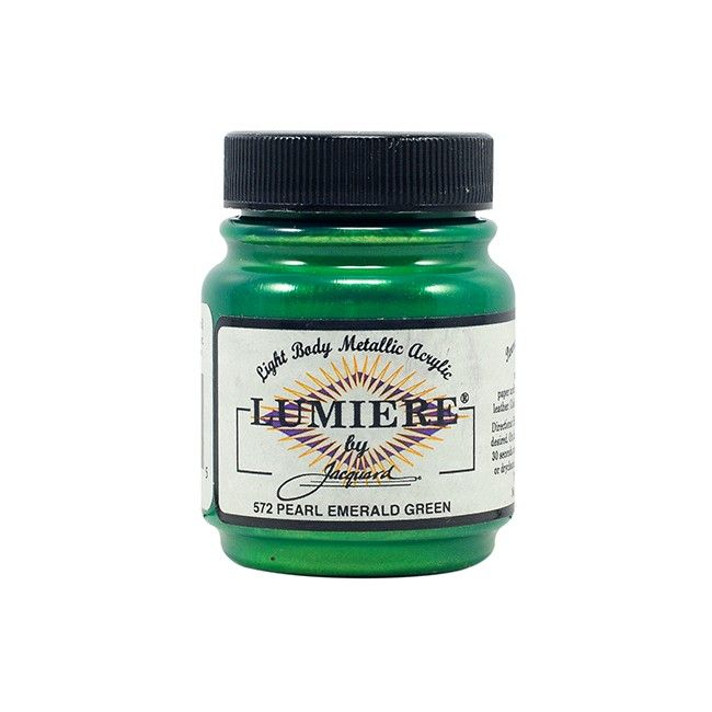 Jacquard Lumiere Paint - Pearlescent Emerald