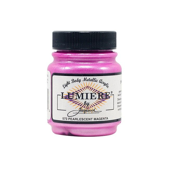 Jacquard Lumiere Paint - Pearlescent Magenta