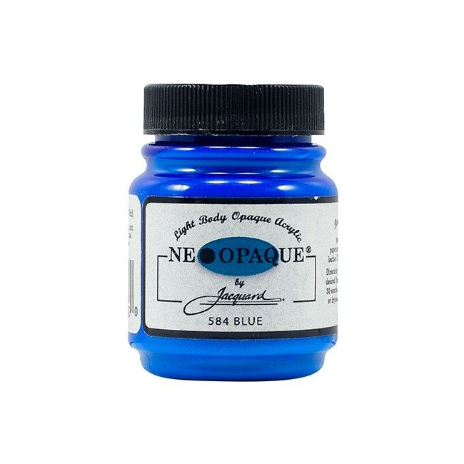 Jacquard Neopaque Paint - Blue