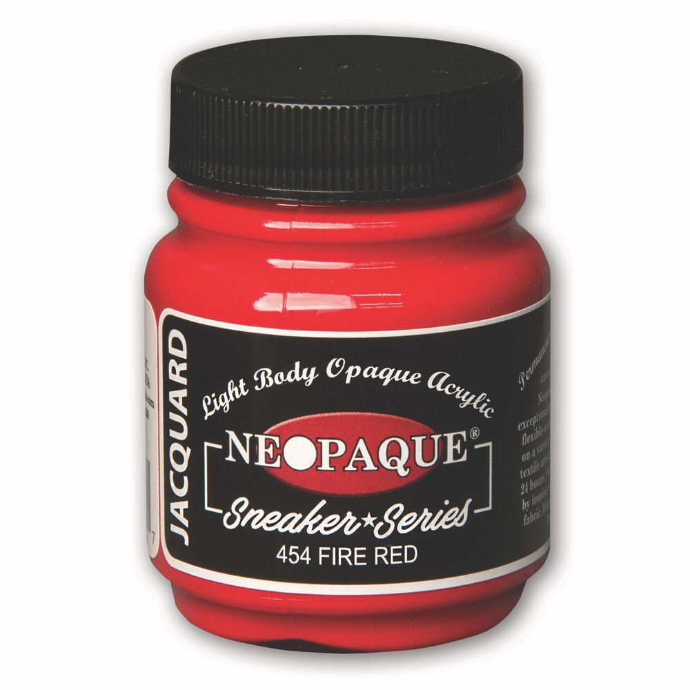 Jacquard Neopaque Paint - Sneaker Series Fire Red