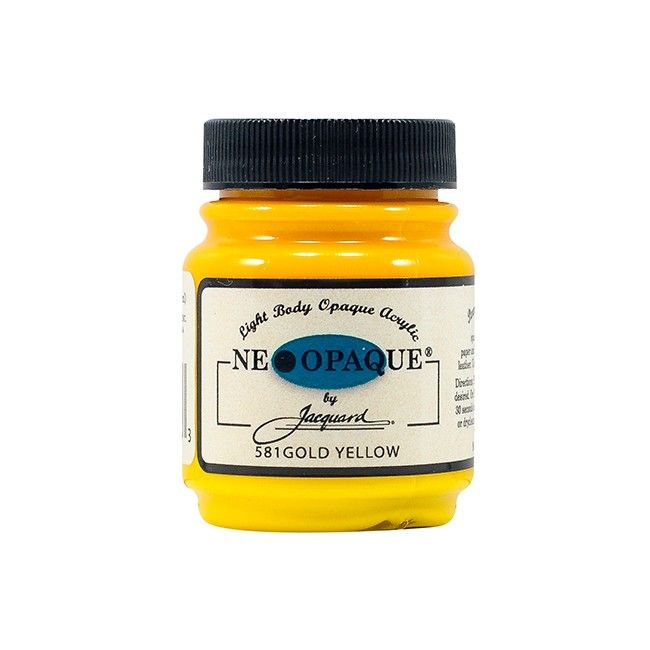 Jacquard Neopaque Paint - Gold Yellow