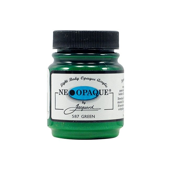 Jacquard Neopaque Paint - Green