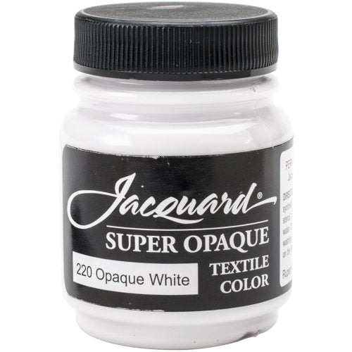 Jacquard Textile Color Paint - Super Opaque White