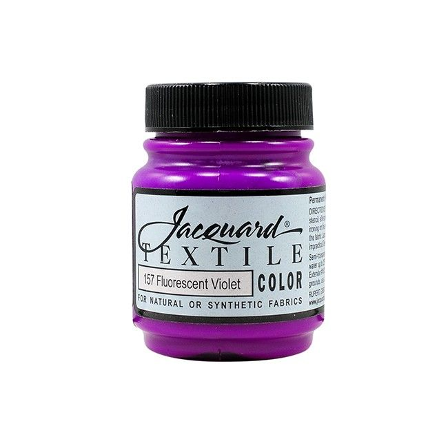 Jacquard Textile Color Paint - Fluorescent Violet