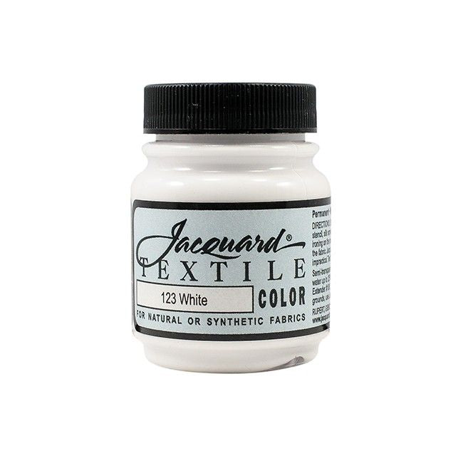 Jacquard Textile Color Paint - White