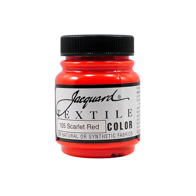 Jacquard Textile Color Paint - Scarlet