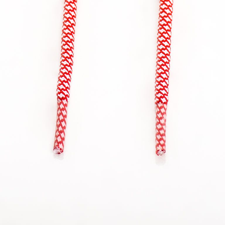 SneakerScience Rope Laces - (White/Red)