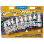 Jacquard Lumiere & Neopaque Paint Exciter Pack - Starter Set