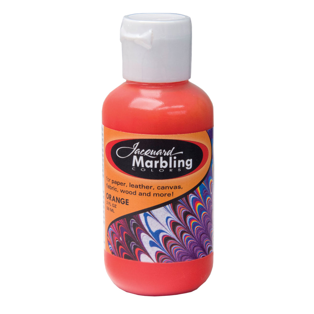 Jacquard Marbling Paint - Orange