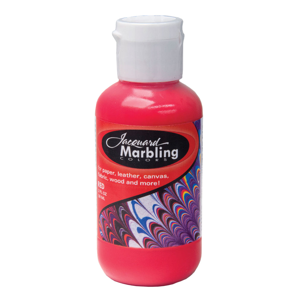 Jacquard Marbling Paint - Red