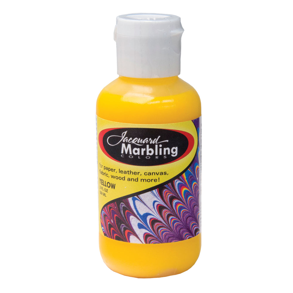 Jacquard Marbling Paint - Yellow