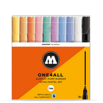 MOLOTOW ONE4ALL 127HS Marker Set - 2mm (Pastel 10 PACK)
