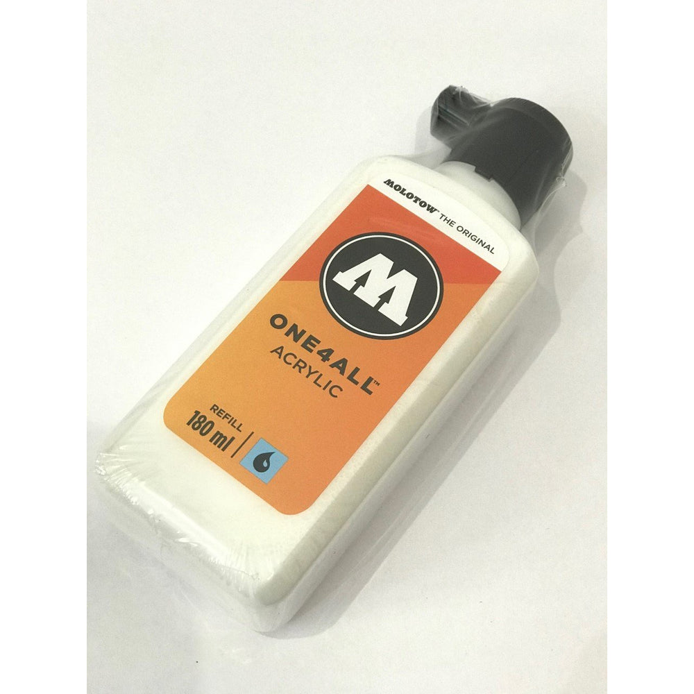 MOLOTOW ONE4ALL Refill - 180ml (#160 Signal White)