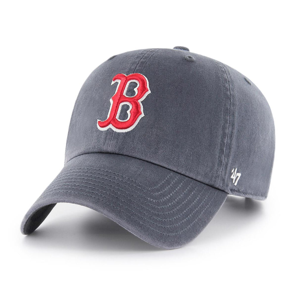 '47 Brand Clean Up Boston Red Sox Cap - Vintage Navy