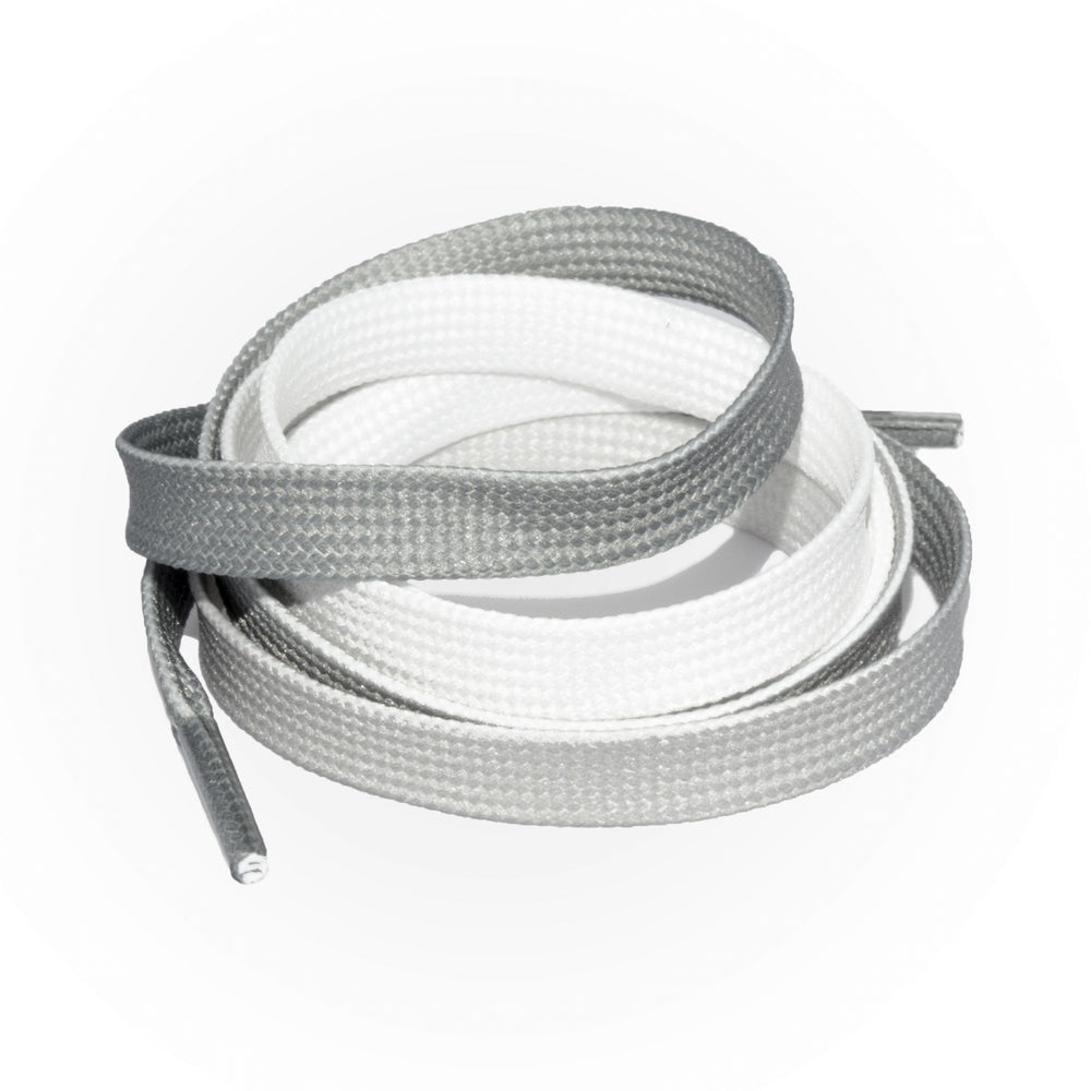 SneakerScience Fade Flat Laces - Grey