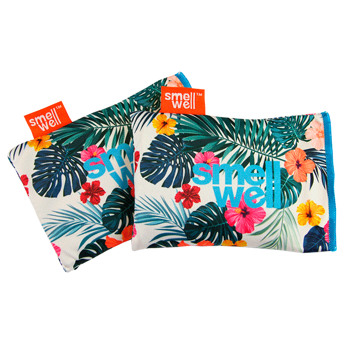 SmellWell Active Odour Eliminating Bags - Hawaii Floral