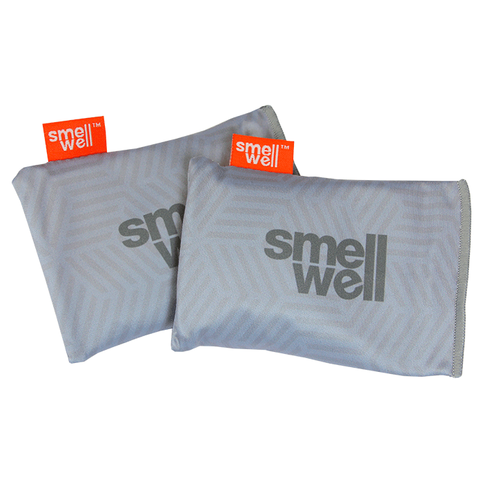 SmellWell Active Odour Eliminating Bags - Geometric Grey